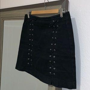 Motto black skirt